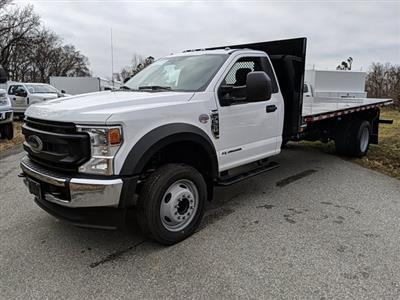2021 Ford F-550 Regular Cab DRW 4x2, Platform Body #M1105 - photo 1