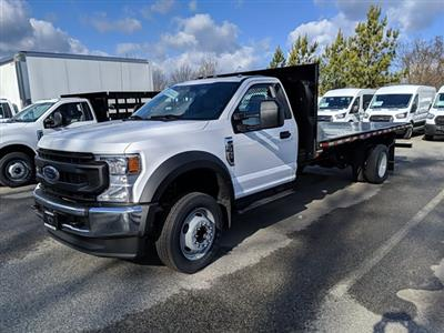 2021 Ford F-550 Regular Cab DRW 4x2, Platform Body #M1160 - photo 1