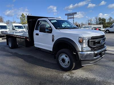 2021 Ford F-550 Regular Cab DRW 4x2, Platform Body #M1160 - photo 4