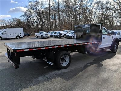 2021 Ford F-550 Regular Cab DRW 4x2, Platform Body #M1160 - photo 5