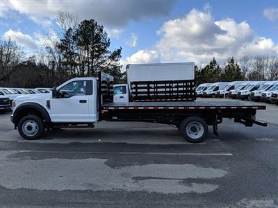 2021 Ford F-550 Regular Cab DRW 4x2, Platform Body #M1160 - photo 7
