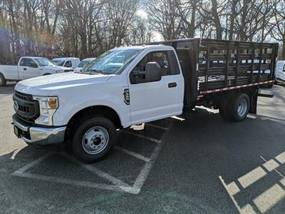 2021 Ford F-350 Regular Cab DRW 4x2, Stake Bed #M1172 - photo 1