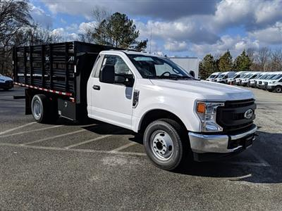 2021 Ford F-350 Regular Cab DRW 4x2, Stake Bed #M1172 - photo 4