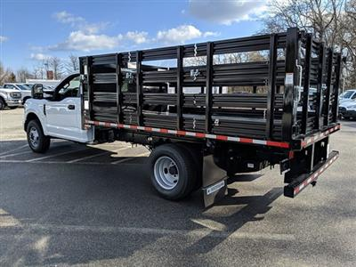 2021 Ford F-350 Regular Cab DRW 4x2, Stake Bed #M1172 - photo 2