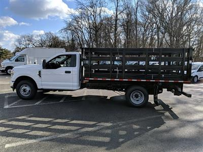 2021 Ford F-350 Regular Cab DRW 4x2, Stake Bed #M1172 - photo 8