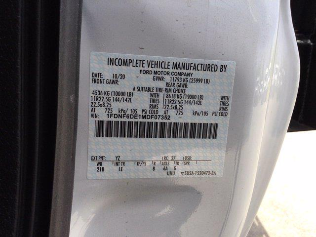 2021 Ford F-650 Regular Cab DRW 4x2, Platform Body #M1462 - photo 12