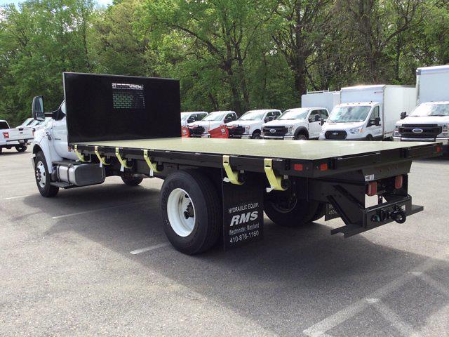 2021 Ford F-650 Regular Cab DRW 4x2, Platform Body #M1462 - photo 2
