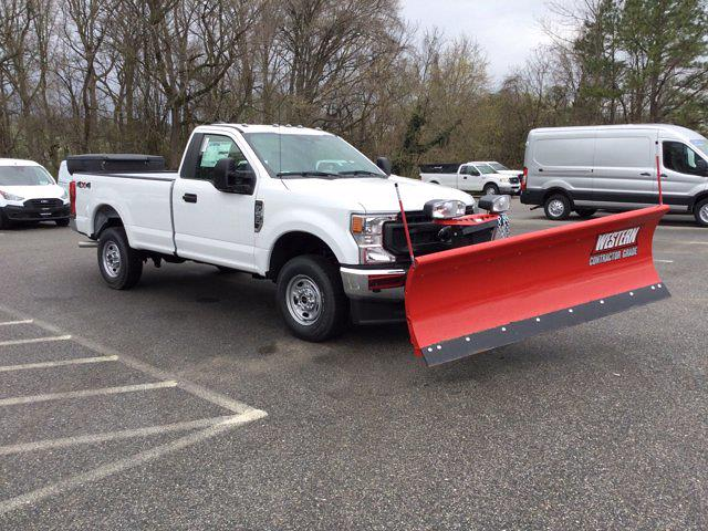 2021 Ford F-250 Regular Cab 4x4, Western Snowplow Pickup #M1097 - photo 24