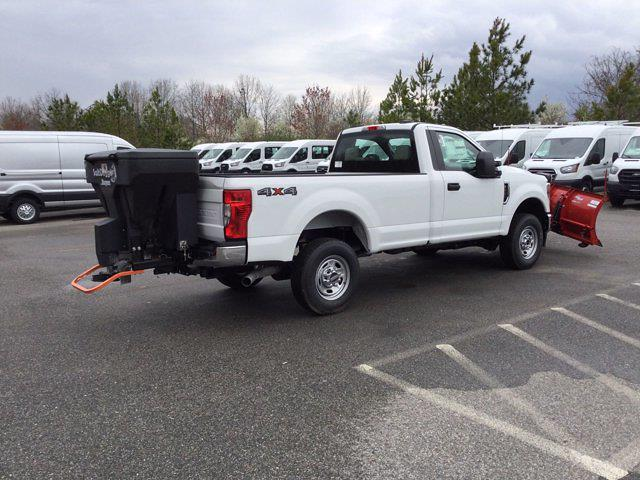 2021 Ford F-250 Regular Cab 4x4, Western Snowplow Pickup #M1097 - photo 21