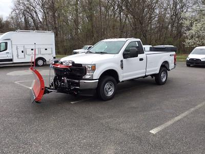 2021 Ford F-250 Regular Cab 4x4, Western Snowplow Pickup #M1097 - photo 22