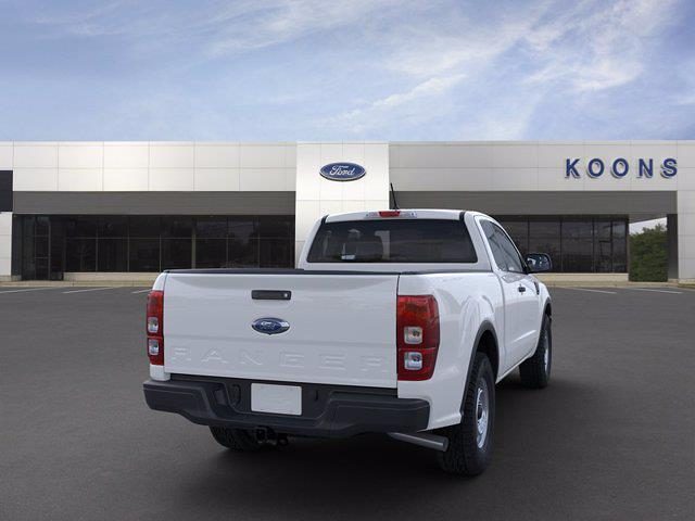 2021 Ford Ranger Super Cab 4x2, Pickup #M1316 - photo 8