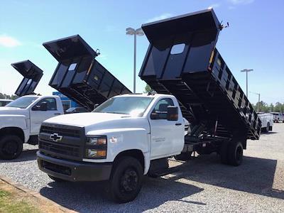 2020 Silverado 5500 Regular Cab DRW 4x2,  PJ's Truck Bodies Landscape Dump #26323 - photo 1
