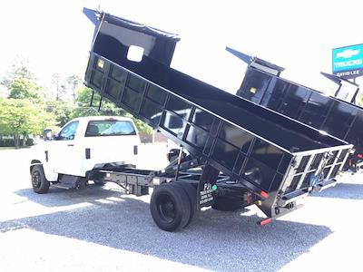 2020 Silverado 5500 Regular Cab DRW 4x2,  PJ's Truck Bodies Landscape Dump #26323 - photo 2