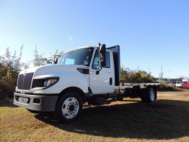 2014 International TerraStar 4x2, Platform Body #26396A - photo 1