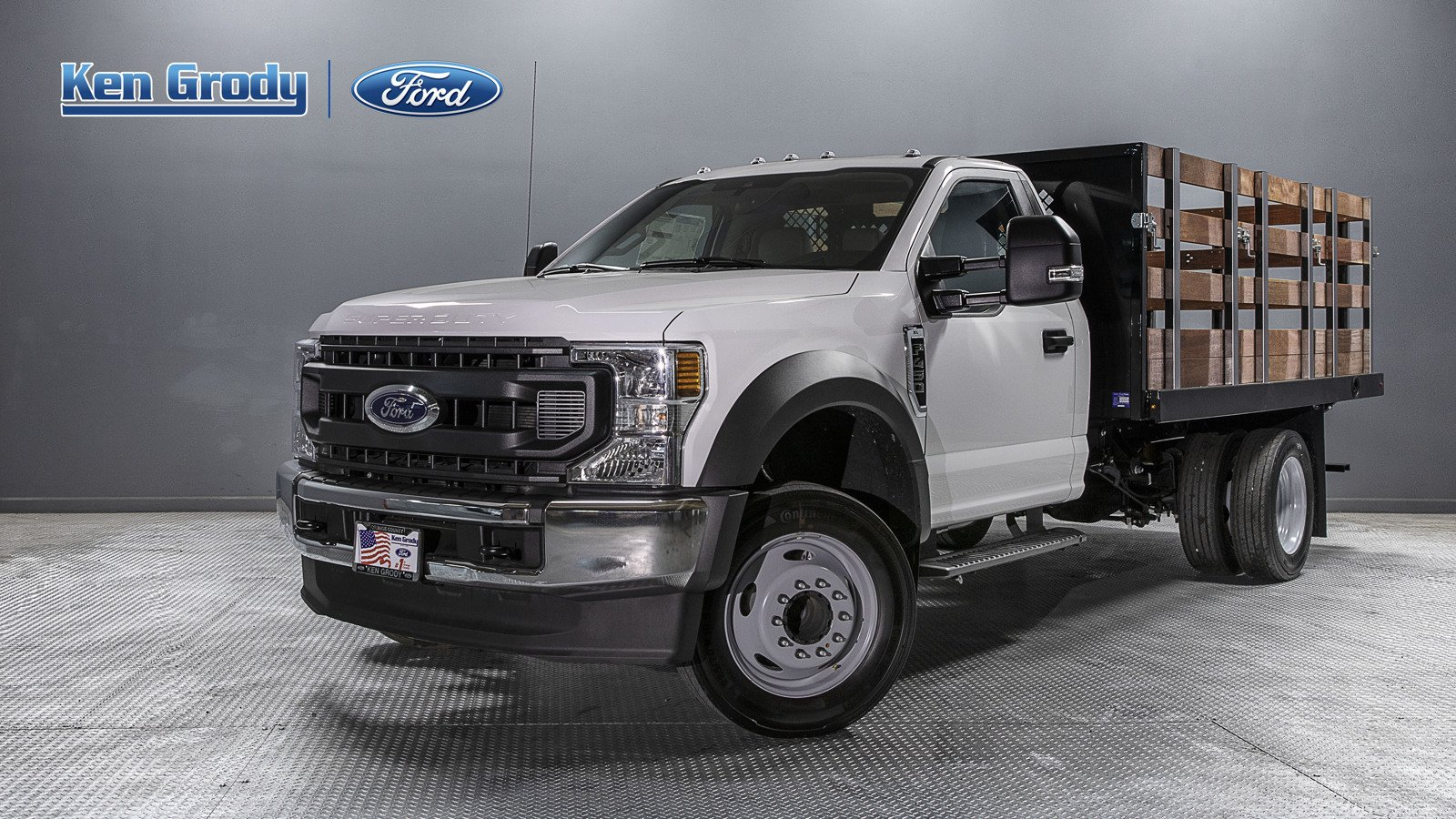 2020 Ford F-450 Regular Cab DRW 4x2, Harbor Stake Bed #01711 - photo 1