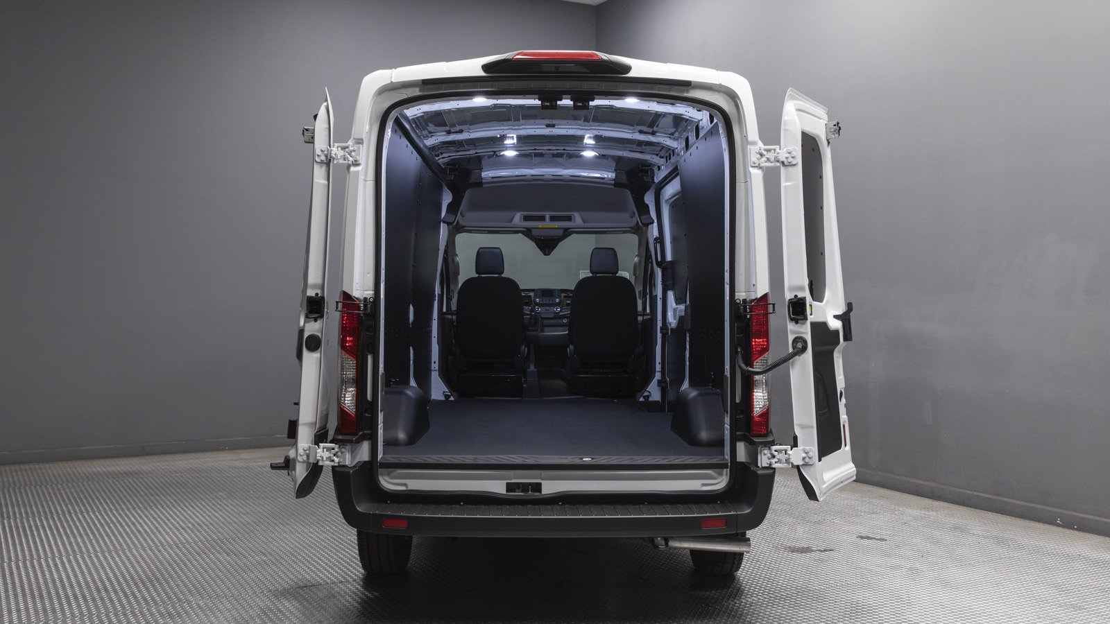 2020 Ford Transit 350 Med Roof RWD, Empty Cargo Van #02933 - photo 1
