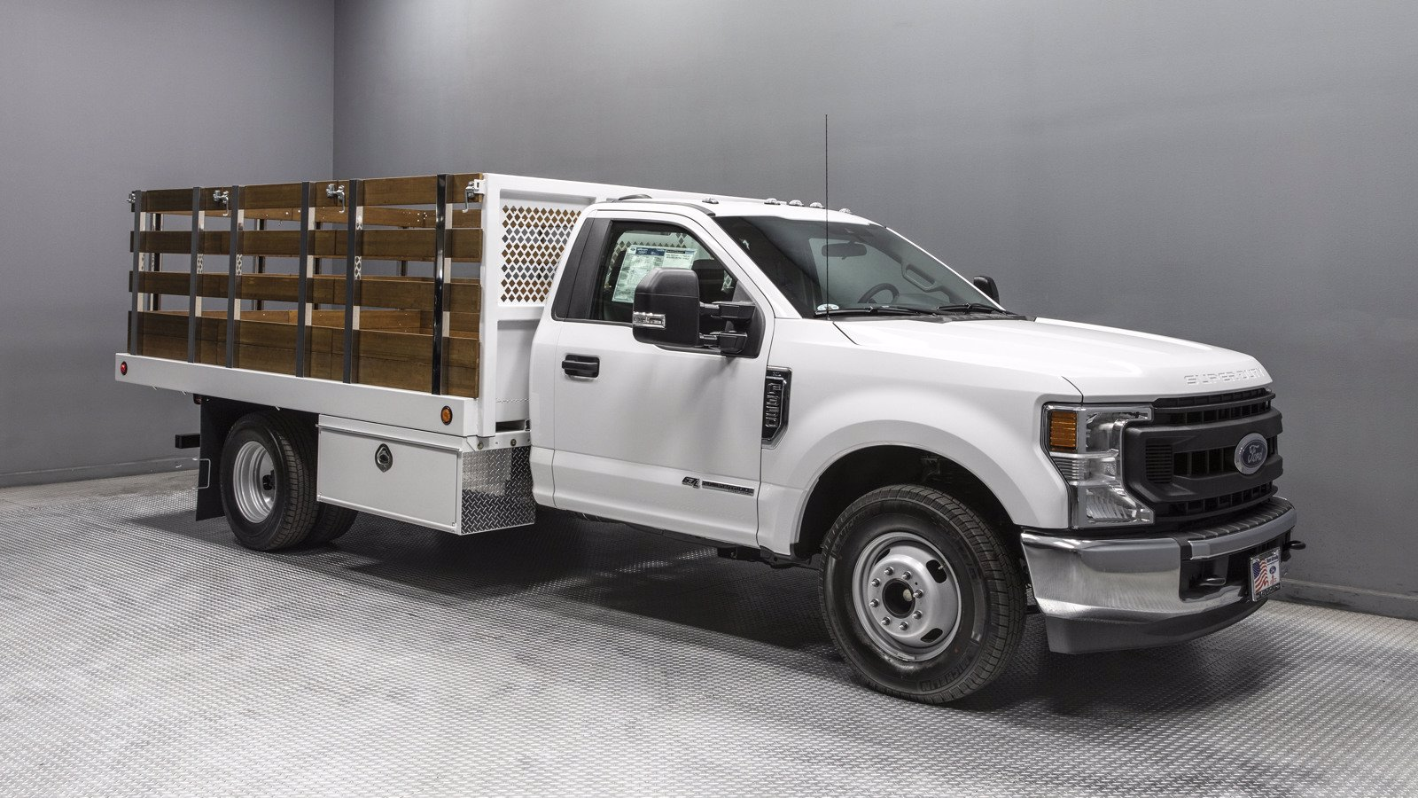 2020 Ford F-350 Regular Cab DRW 4x2, Royal Stake Bed #07923 - photo 1
