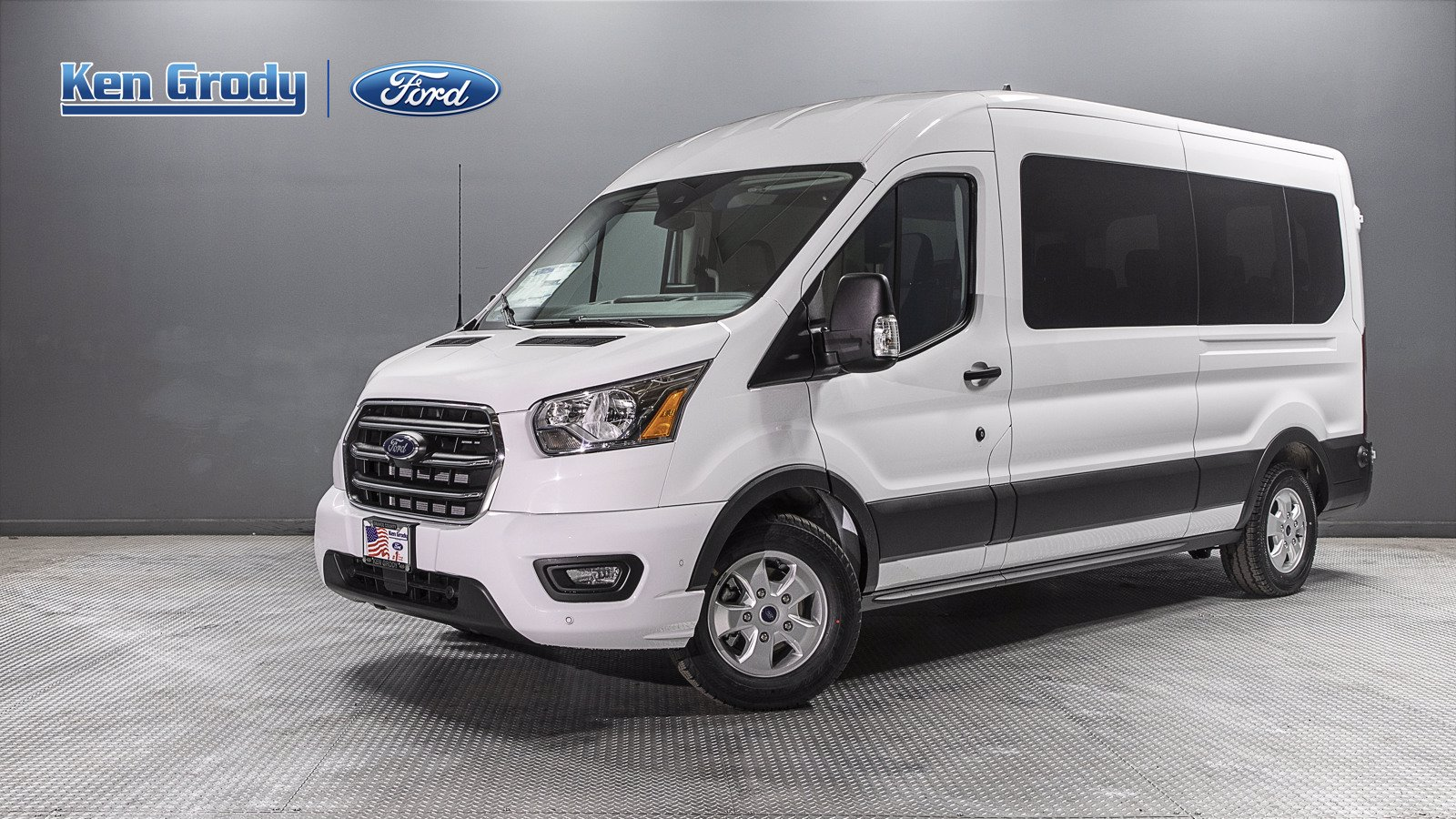 2020 Ford Transit 350 Med Roof 4x2, Passenger Wagon #04529 - photo 1