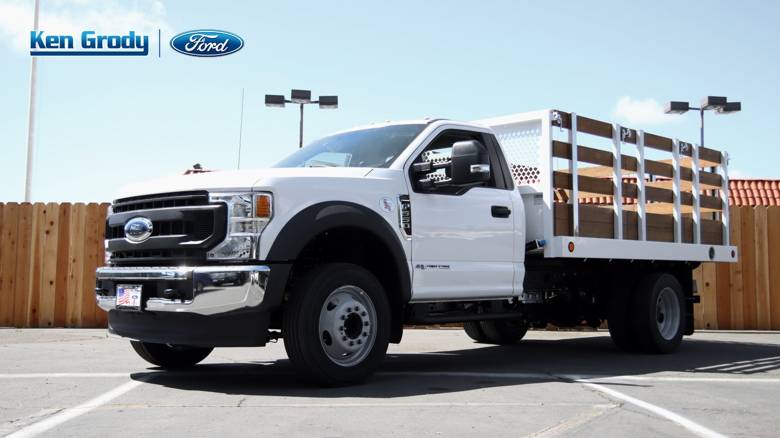 2020 Ford F-550 Regular Cab DRW 4x2, Royal Stake Bed #04397 - photo 1