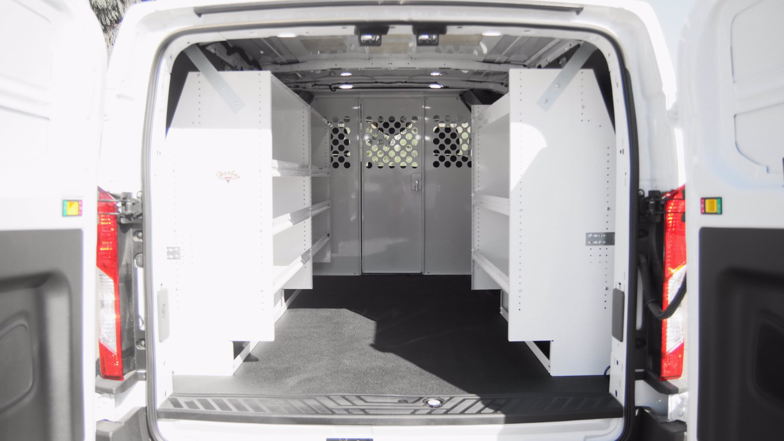 2020 Ford Transit 150 Low Roof 4x2, Harbor Upfitted Cargo Van #04518 - photo 1