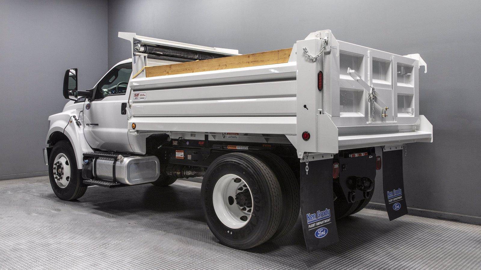 2021 Ford F-650 Regular Cab DRW 4x2, Scelzi Dump Body #210025 - photo 1