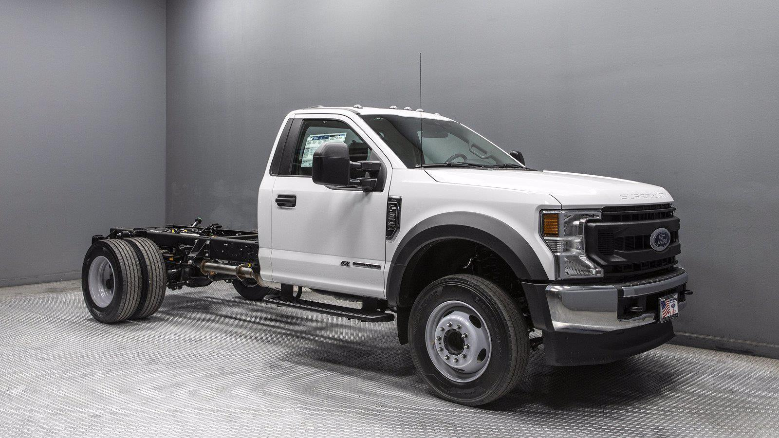 2021 Ford F-600 Regular Cab DRW 4x2, Cab Chassis #210608 - photo 1