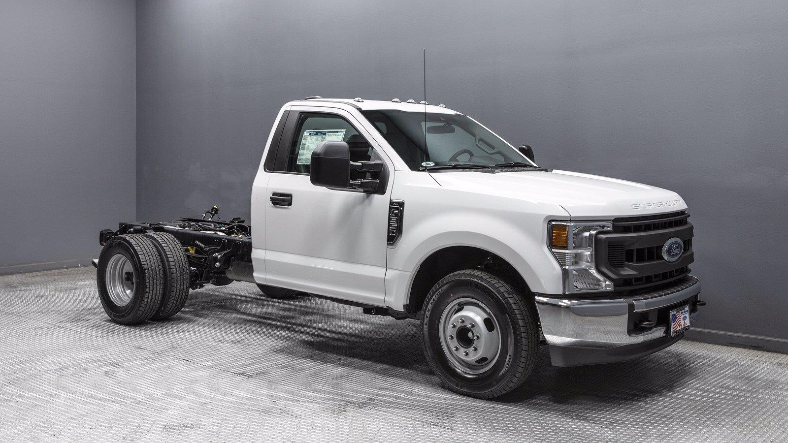 2021 Ford F-350 Regular Cab DRW 4x2, Cab Chassis #210756 - photo 1