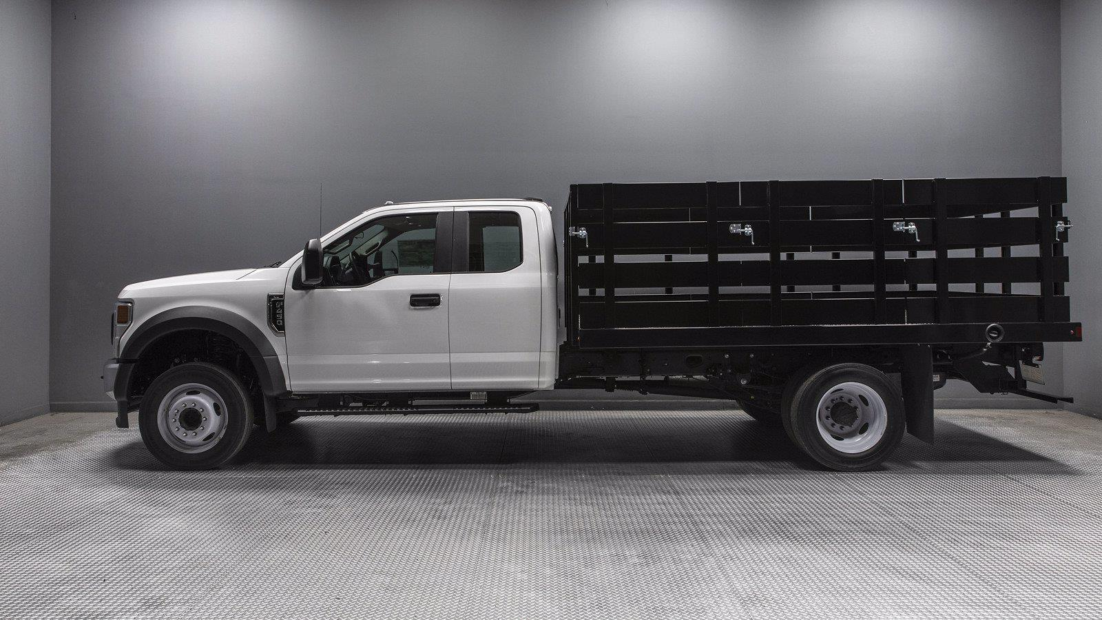 2021 Ford F-450 Super Cab DRW 4x2, Harbor Stake Bed #210968 - photo 1