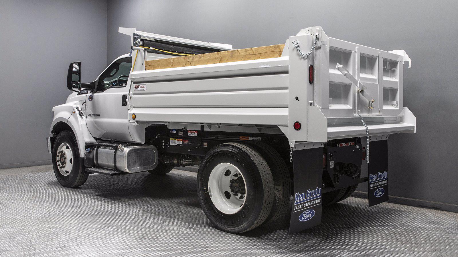 2021 Ford F-650 Regular Cab DRW 4x2, Scelzi Dump Body #211047 - photo 1