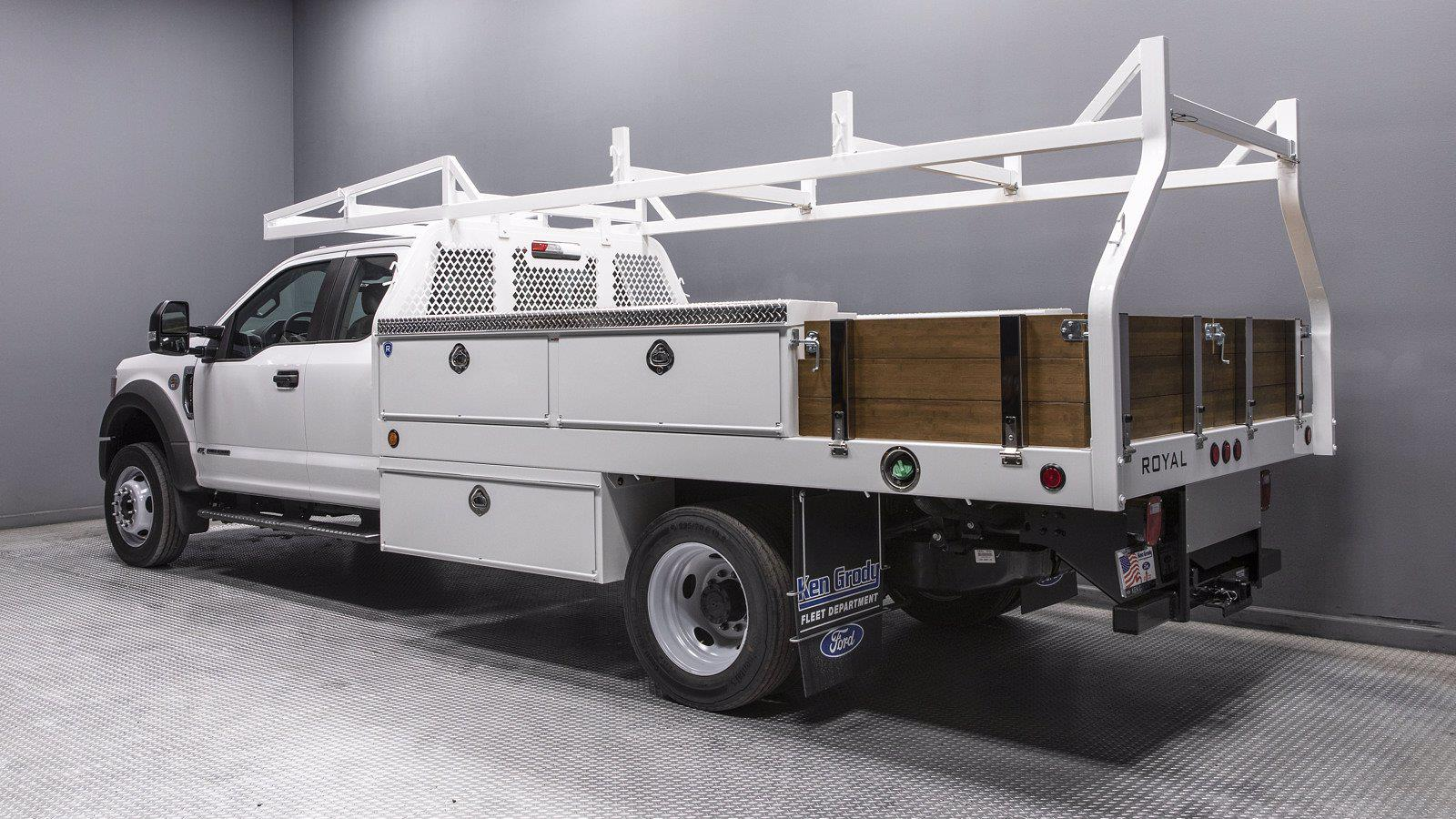 2021 Ford F-550 Super Cab DRW 4x2, Royal Truck Body Contractor Body #216348 - photo 1