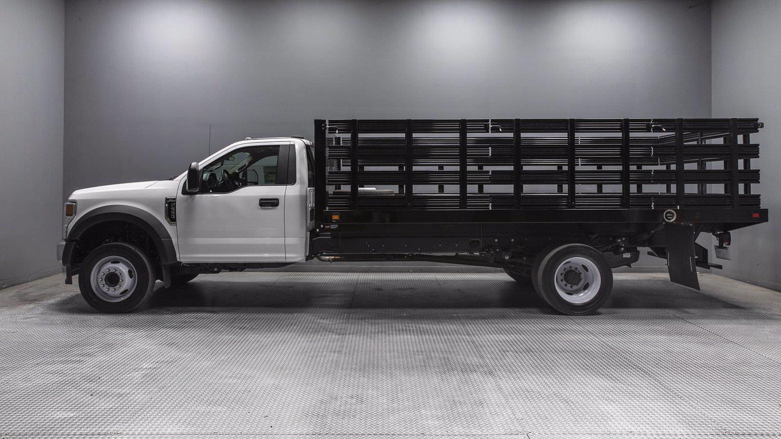2021 Ford F-550 Regular Cab DRW 4x2, Knapheide Stake Bed #212320 - photo 1