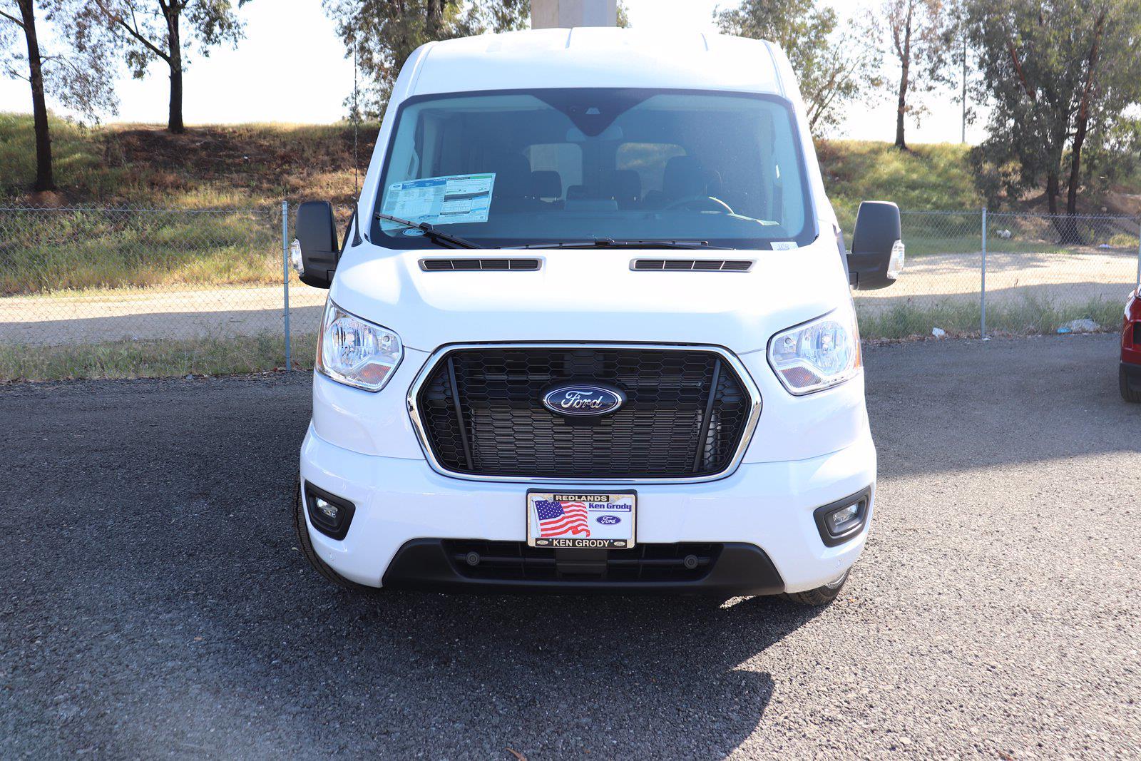 2021 Ford Transit 350 Medium Roof 4x2, Passenger Wagon #24742 - photo 1