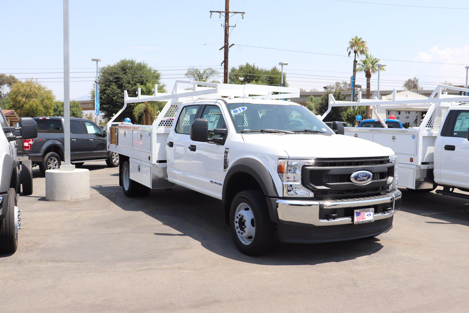 2021 Ford F-450 Crew Cab DRW 4x2, Royal Truck Body Contractor Body #M25072 - photo 1