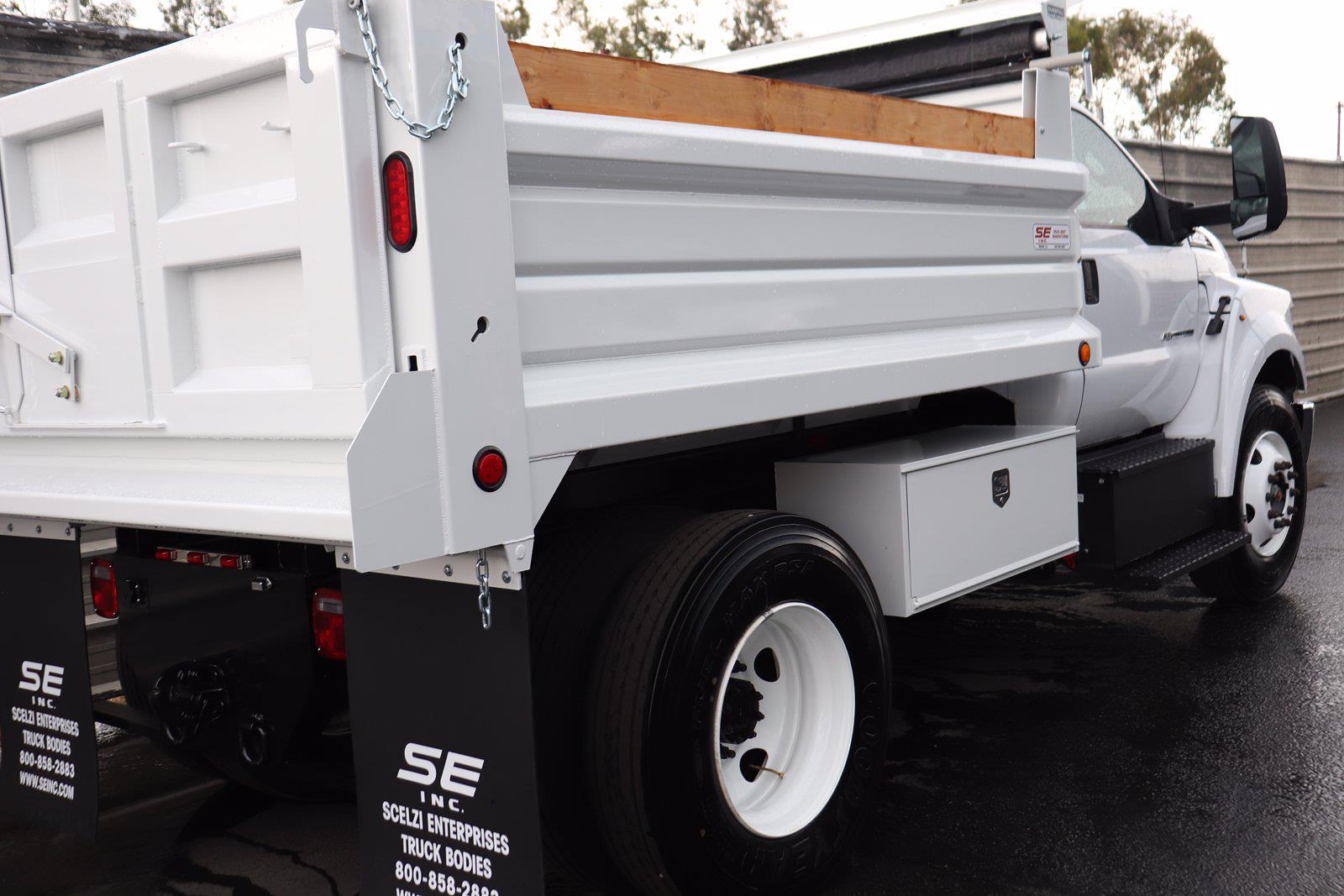 2022 Ford F-650 Regular Cab DRW 4x2, Scelzi Dump Body #M25149 - photo 1