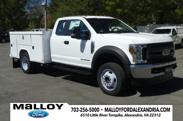 2019 Ford F-550 Super Cab DRW 4x4, Reading Service Body #20433 - photo 1