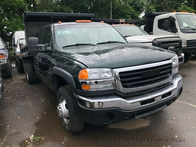 2006 GMC Sierra 3500 Extended Cab 4x4, Dump Body #13208 - photo 1