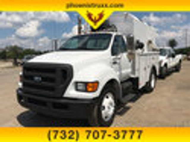 2008 Ford F-650 Regular Cab DRW RWD, Monroe Custom Utility Bodies Inc Service Body #13675 - photo 1
