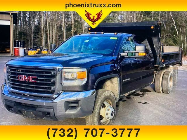 2015 GMC Sierra 3500 Crew Cab 4x4, Dump Body #13844 - photo 1