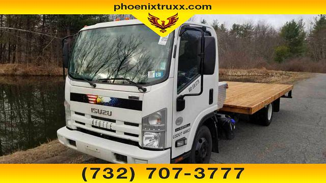 2014 Isuzu NPR-HD Regular Cab 4x2, Platform Body #13971 - photo 1