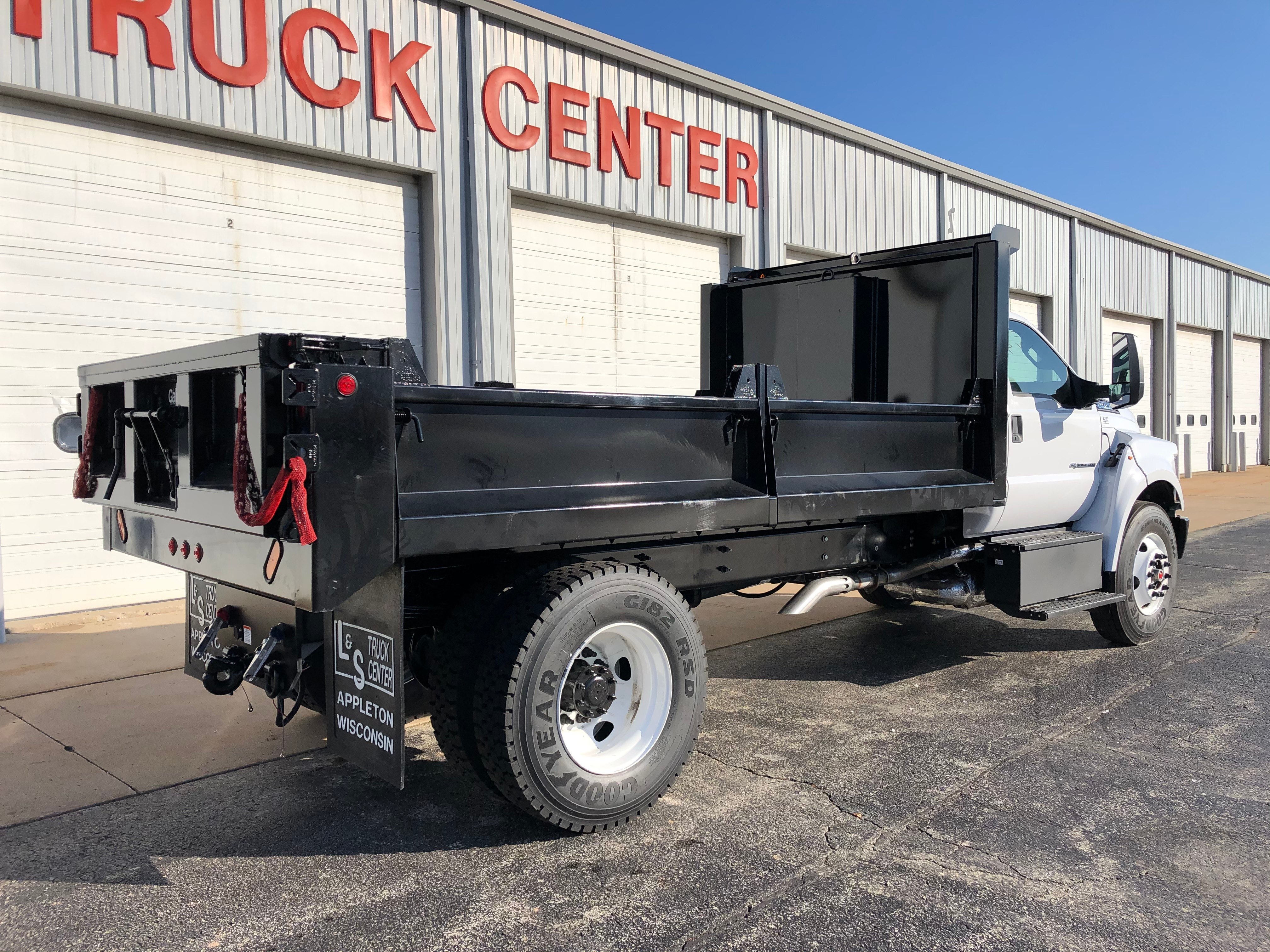 2019 Ford F-750 Regular Cab DRW 4x2, Galion Dump Body #3571 - photo 1