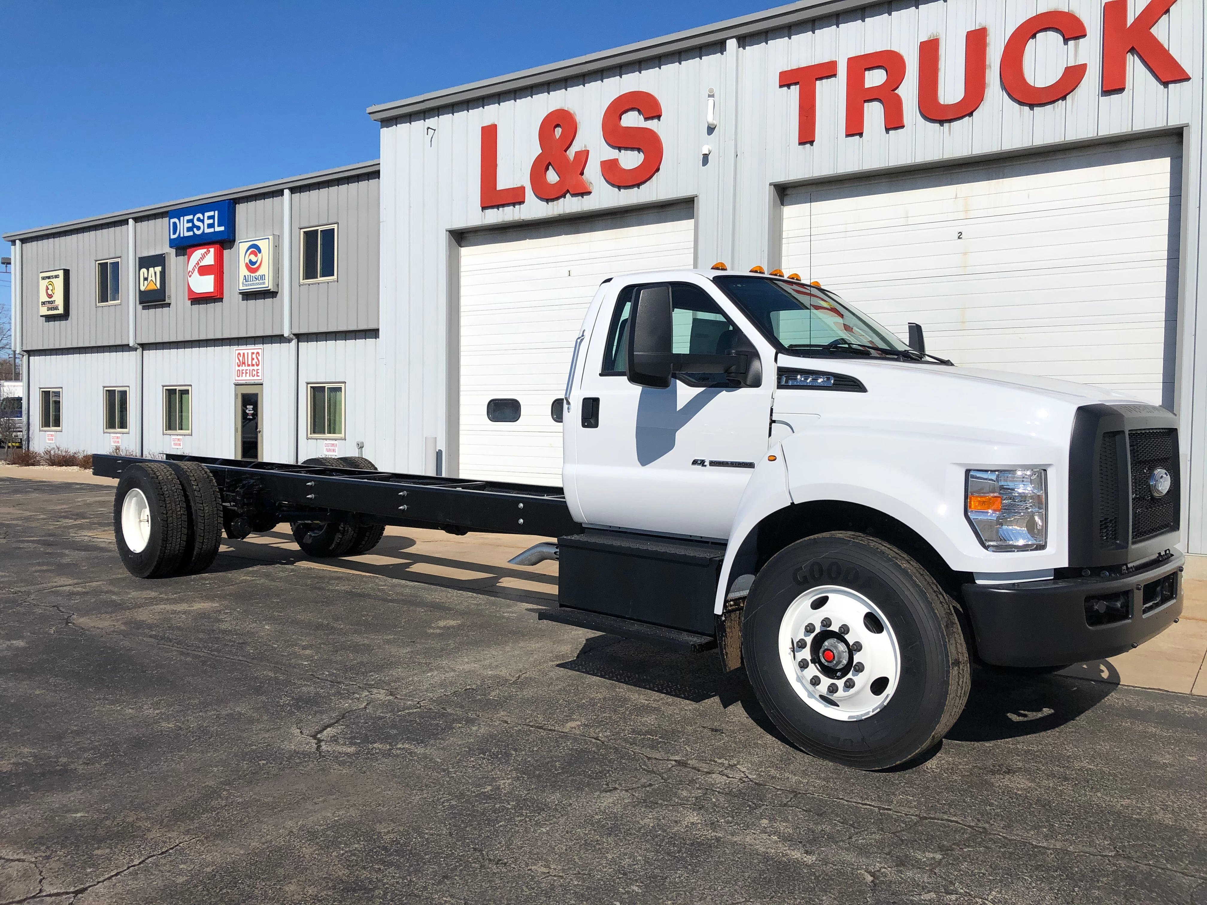 2021 Ford F-650 Regular Cab DRW RWD, Cab Chassis #3618 - photo 1