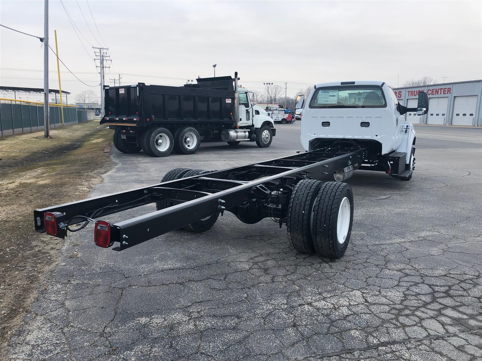 2021 Ford F-650 Regular Cab DRW RWD, Cab Chassis #3627 - photo 1