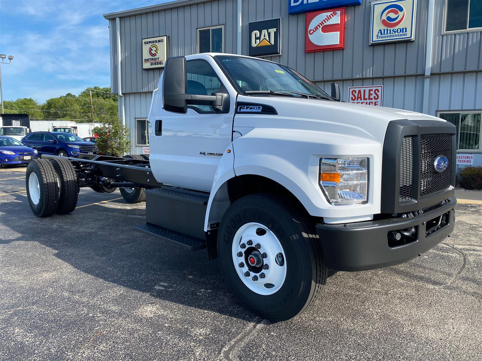 2021 Ford F-750 Regular Cab DRW RWD, Cab Chassis #3645 - photo 1