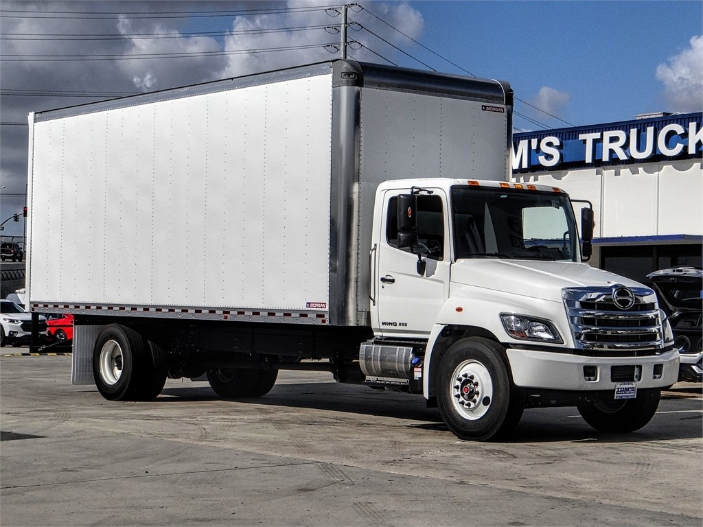2020 Hino Truck Single Cab, Morgan Dry Freight #HS79166 - photo 1