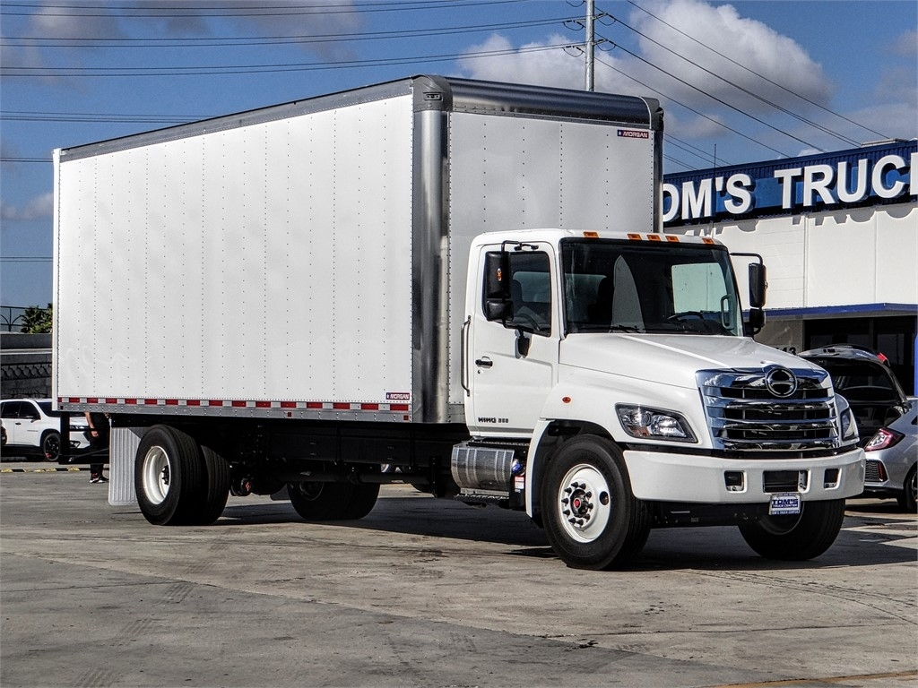 2020 Hino Truck Single Cab, Morgan Dry Freight #HS79167 - photo 1