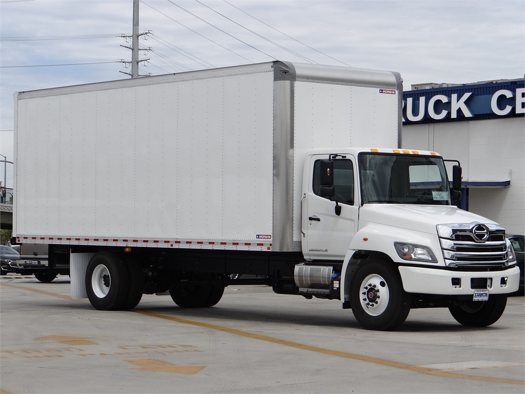 2021 Hino Truck, Morgan Dry Freight #HT50978 - photo 1