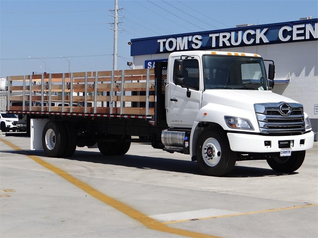 2021 Hino Truck, Morgan Stake Bed #HT51200 - photo 1