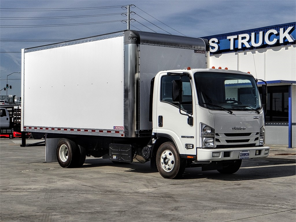2020 Isuzu NPR-HD Regular Cab 4x2, Morgan Dry Freight #Z011572 - photo 1