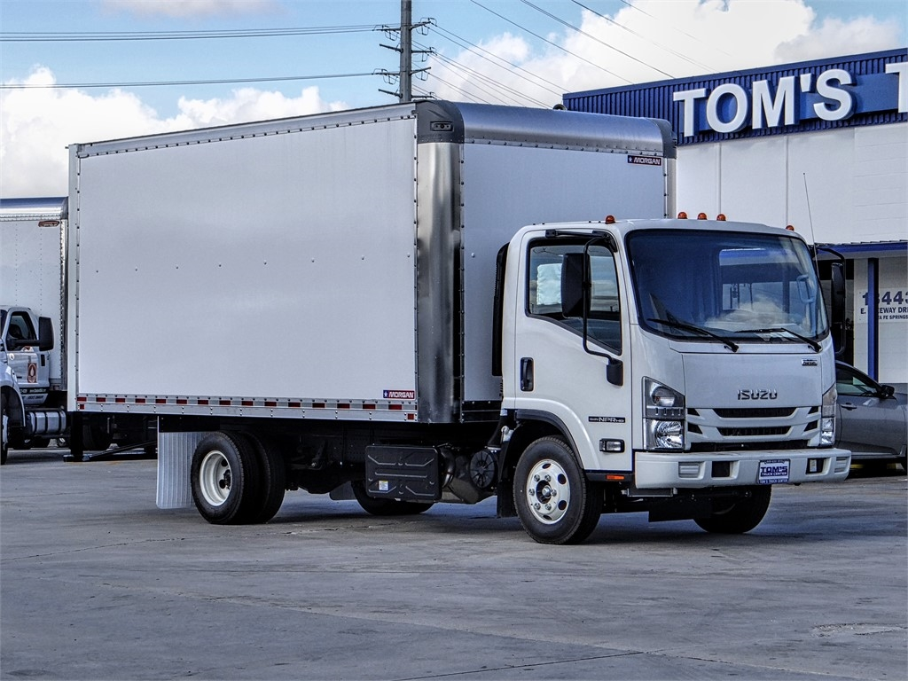 2020 Isuzu NPR-HD Regular Cab 4x2, Morgan Dry Freight #Z011694 - photo 1