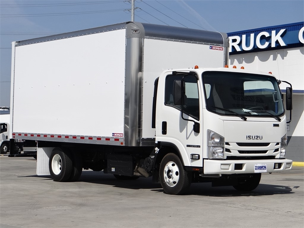 2020 Isuzu NPR-HD Regular Cab 4x2, Morgan Dry Freight #Z012083 - photo 1